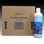 Hemp Bags & Packs > Produce Wash with Grapefruit Extract, 16 oz. Bottles (Case of 12)