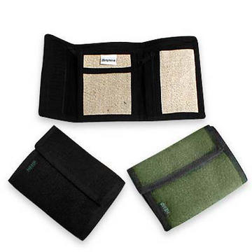 Trifold Hemp Wallet from Hempmania