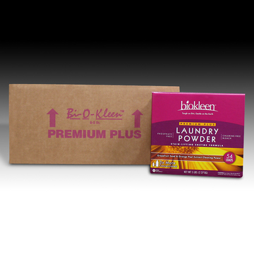 Premium Plus Laundry Powder, 5-lb. Boxes (Case of 8) from Biokleen