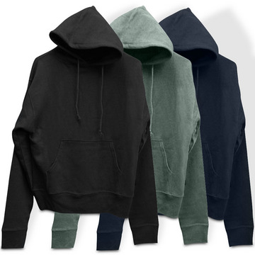 Original Hemp Hooded Sweatshirt from GoodHumans