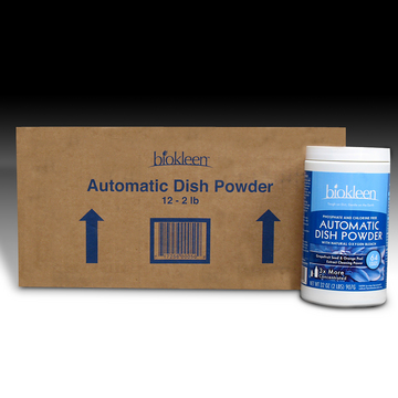 Automatic Dish Powder (Case of Twelve 2-lb. Jars) from Biokleen
