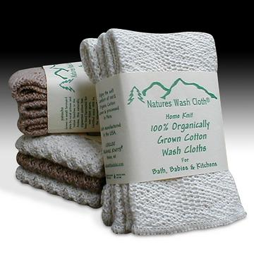 Nature's Wash Cloth from Coulee Organic Knits