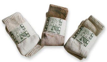 Regular Crew Organic Cotton Socks from Organic Threads