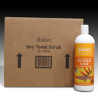 Soy Blends Toilet Scrub, 32 oz. Bottles (Case of 12) from Biokleen