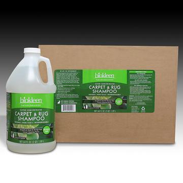 Super-concentrated Carpet & Rug Shampoo, 64 oz. Bottles (Case of 6) from Biokleen