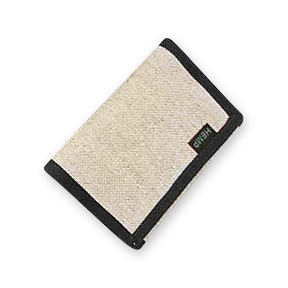 The Eight Compartment Tri Fold Hemp Wallet from Hempmania